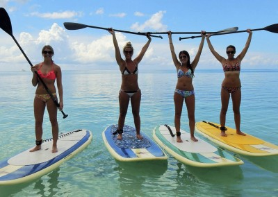 Enjoy the new hip watersport - Stand-Up-Paddling