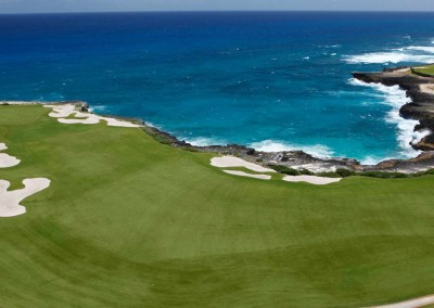 One of the several golf courses in Punta Cana