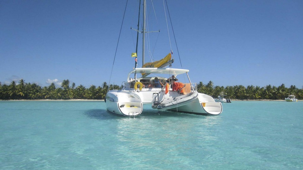 Private Catamaran Trip along the stunning beaches of the Dominican Republic