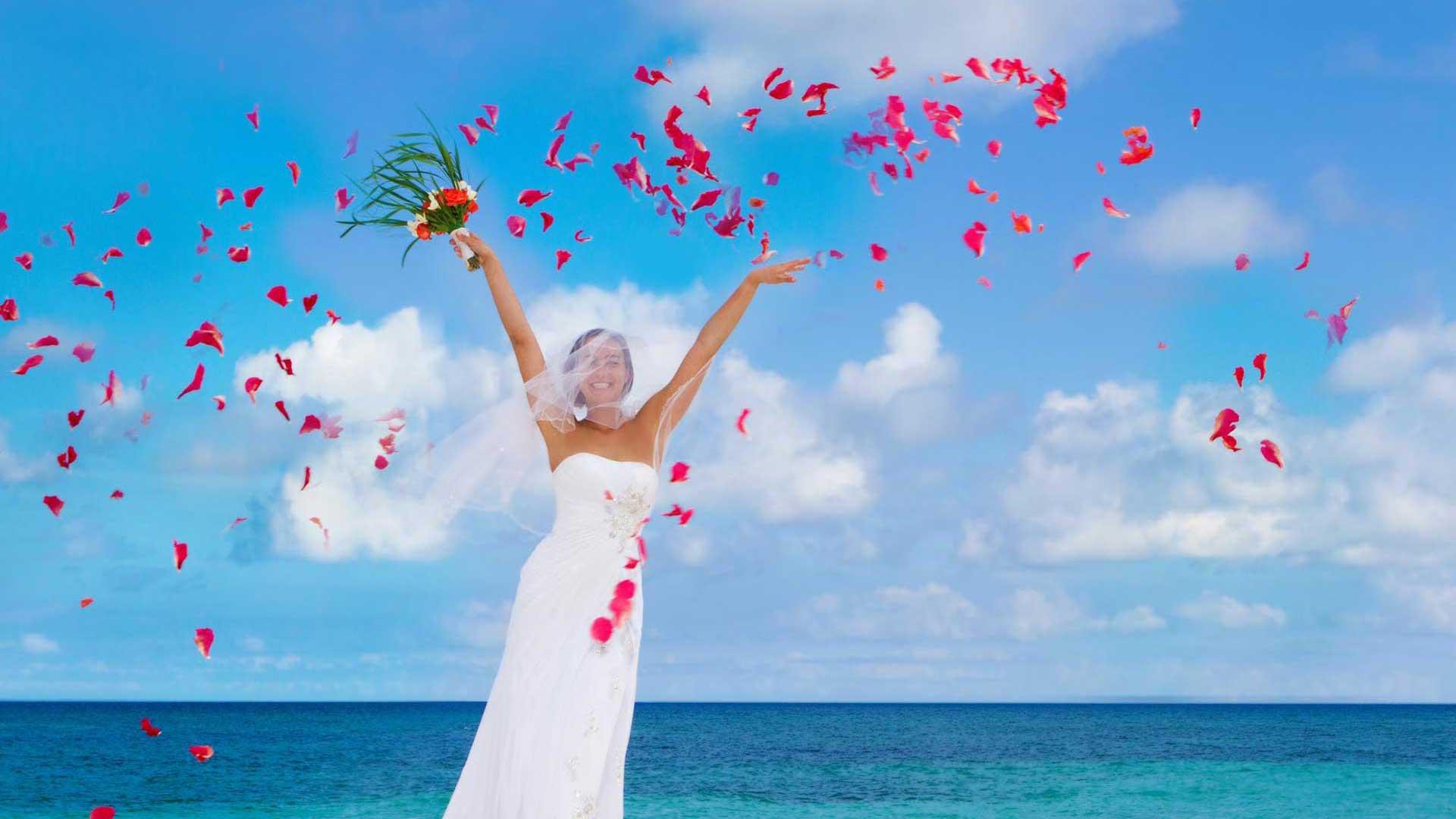 Hochzeit am Strand direkt in der Karibik