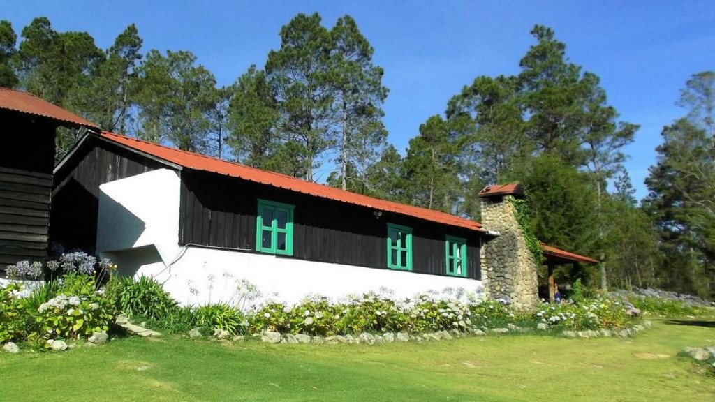 Mountain Cottages at Villa Pajon, the highest hotel in the Caribbean