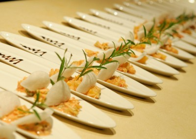 Gourmet food for your event with MI CORAZON catering