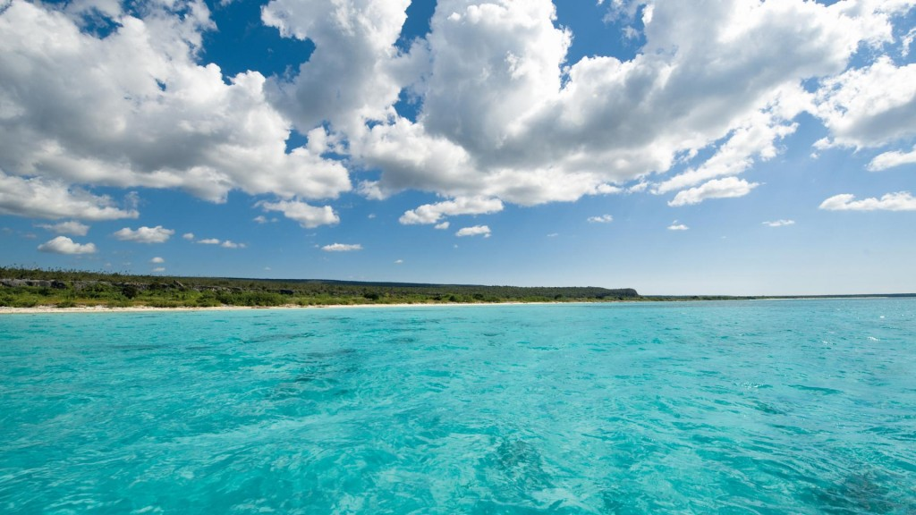 The stunning Bahia de las Aguilas in the Southwest of the Dominican Republic