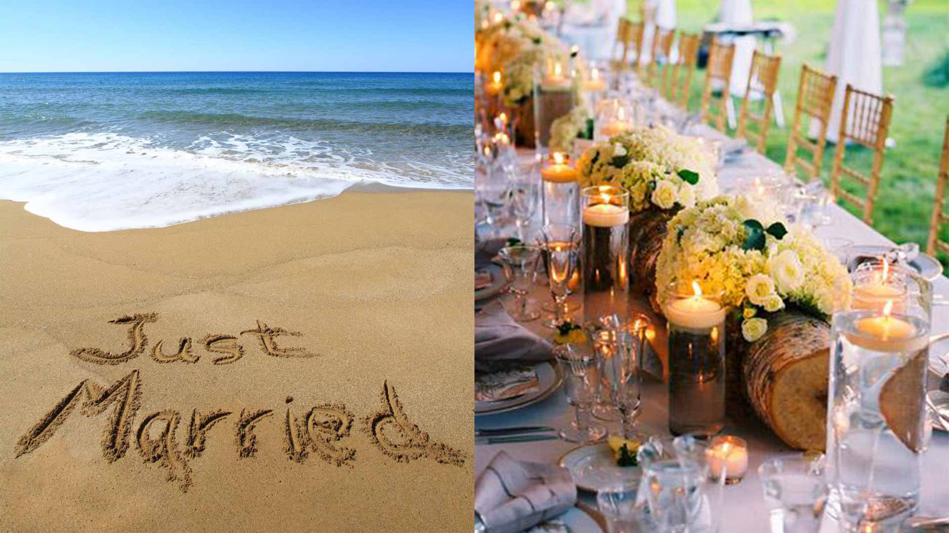 A destination wedding at the beach with WICKED Events and Travel