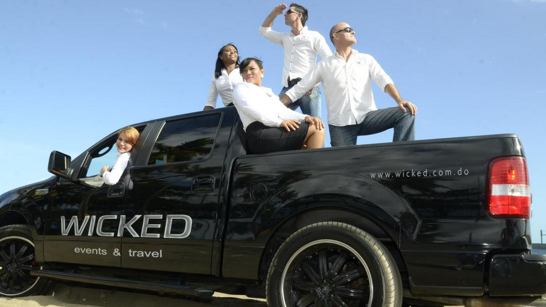 Our professional team from WICKED Events & Travel is your expert partner.