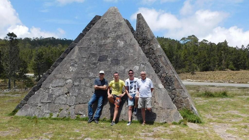 The pyramid at Parque Nacional Valle Nuevo