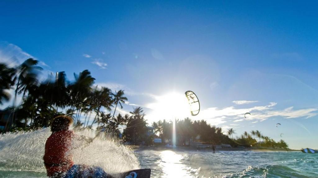 Kitesurfing in Cabarete at the Dominican Republics North Coast