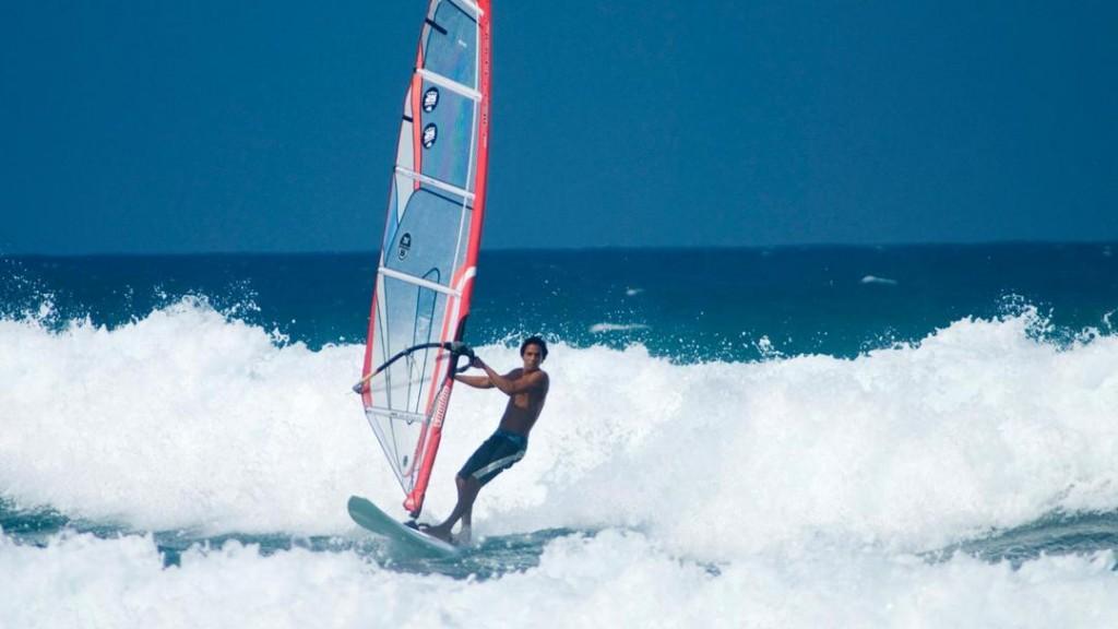 Windsurfing in Cabarete at the Dominican Republics North Coast
