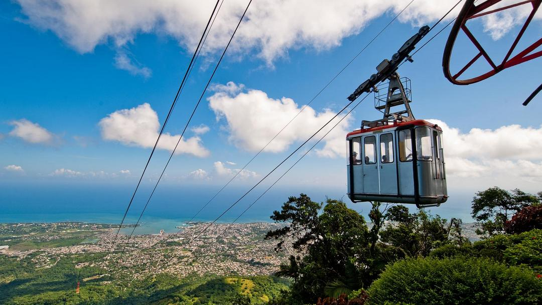 The cable car of Puerto Plata