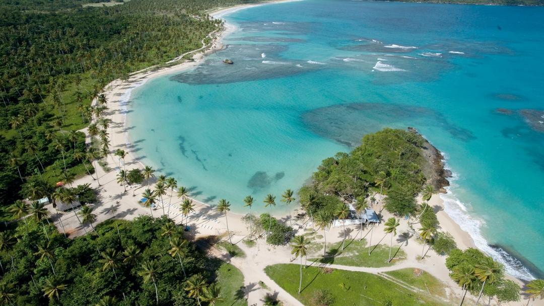 Paradisicial Playa Rincón on the Samaná peninsula