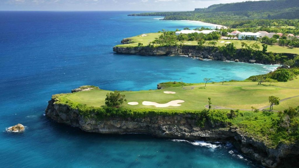 One of the many golf courses in the country