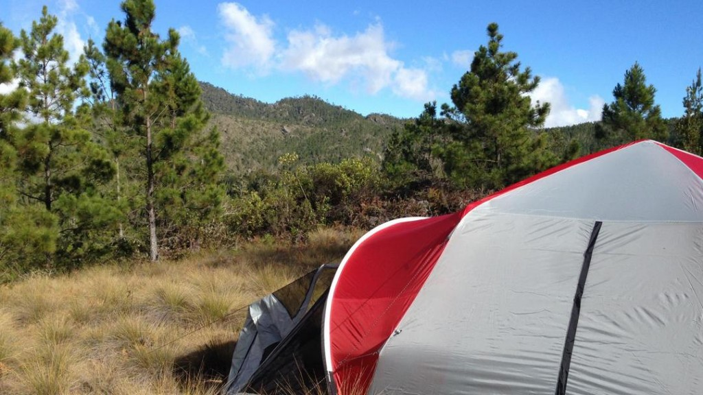 The Cordillera Central is a perfect spot for camping