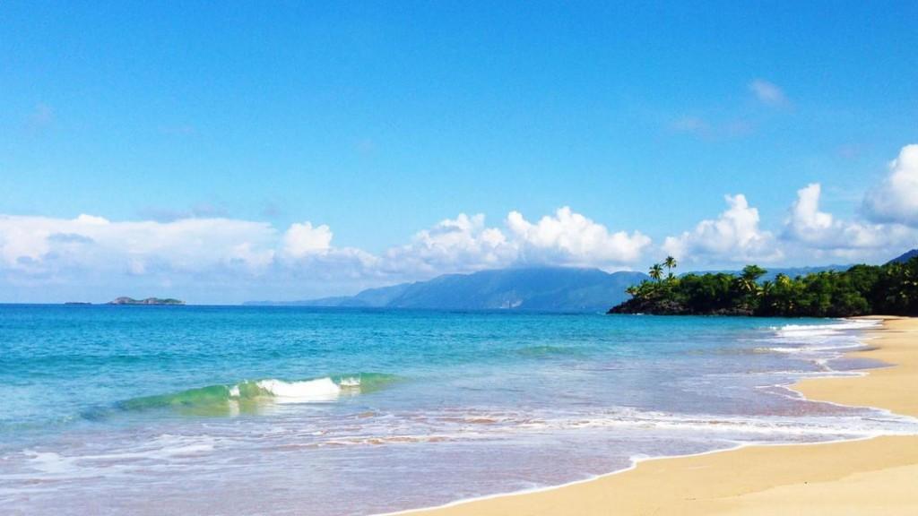 Beautiful Playa Cosón in Las Terrenas