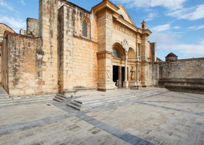The Cathedral of Santo Domingo in the Zona Colonial