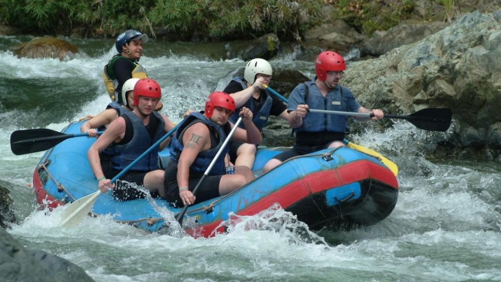 River Rafting from Jarabacoa in the Cordillera Central