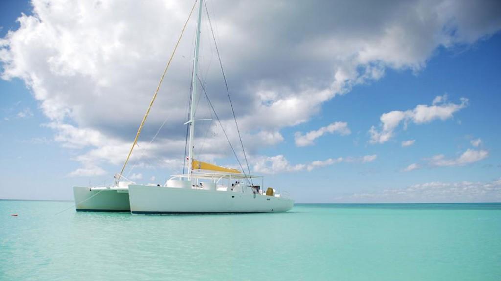 Trip with a catamaran