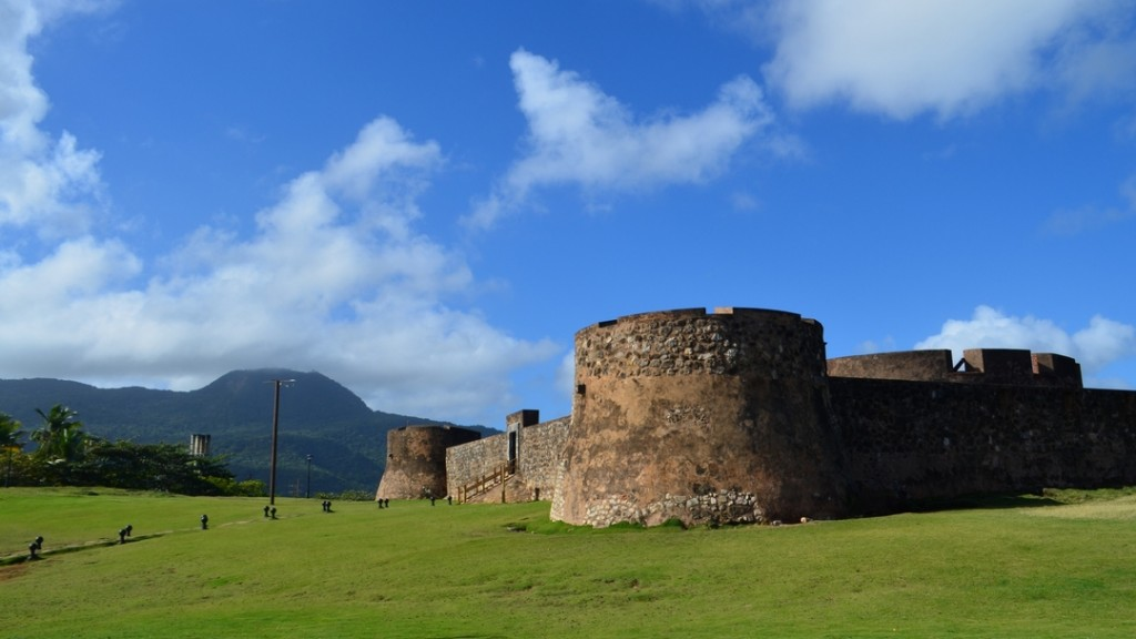 The Fortress of San Felipe in Puerto Plata