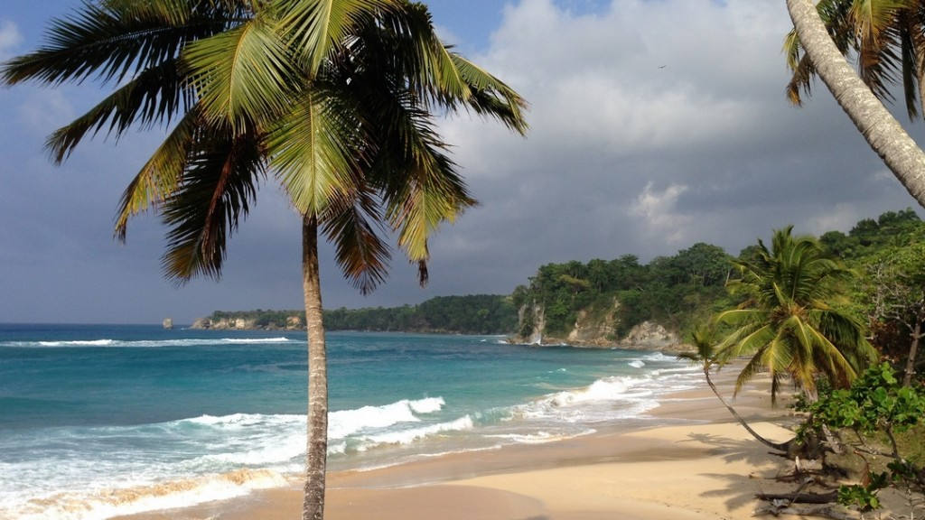Close to Cabrera, one of the famous beaches in the North of the Dominican Republic