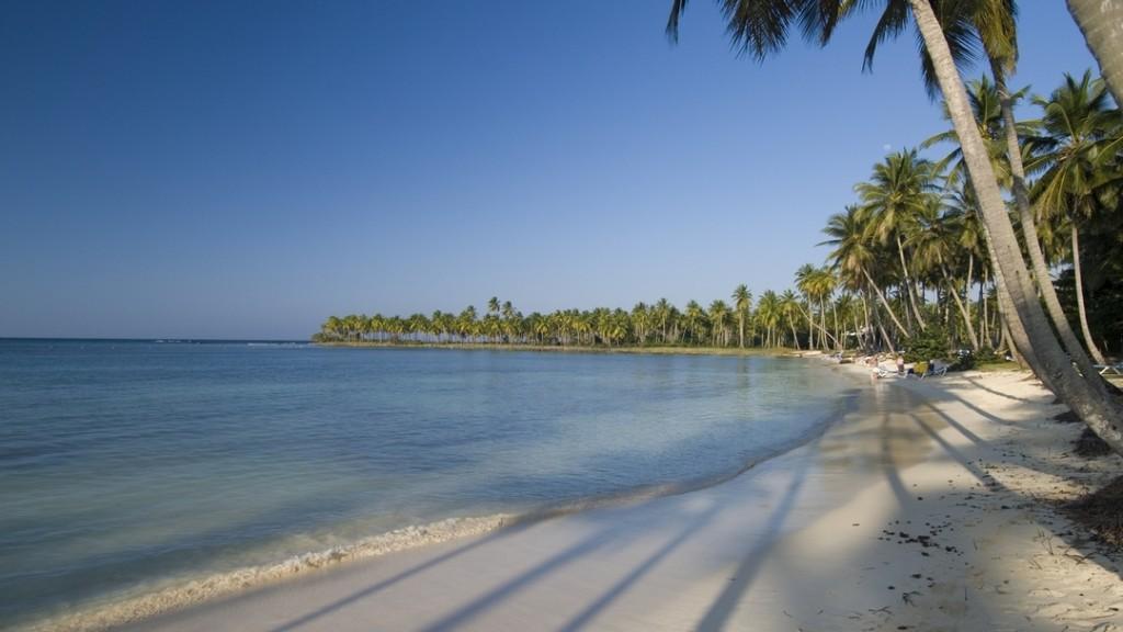 The beach of Playa Portillo in Las Terrenas