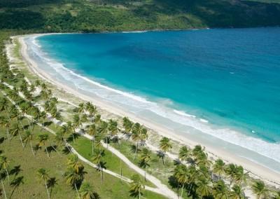 Beautiful Playa Moron in Samaná