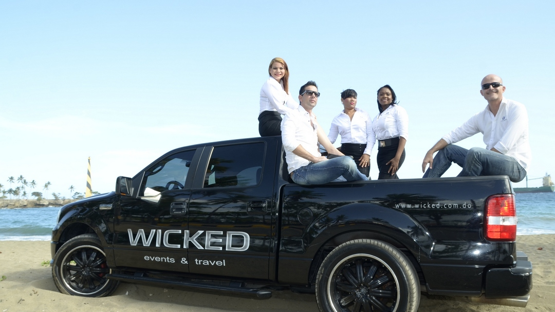 Our professional team from WICKED Events
