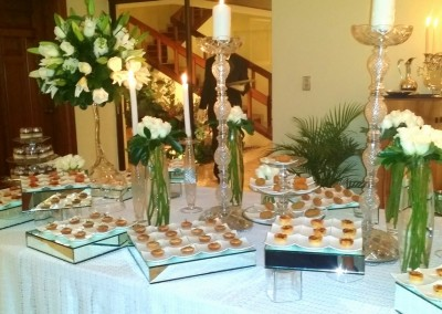 A private birthday party organized by WICKED Events and MI CORAZON Catering
