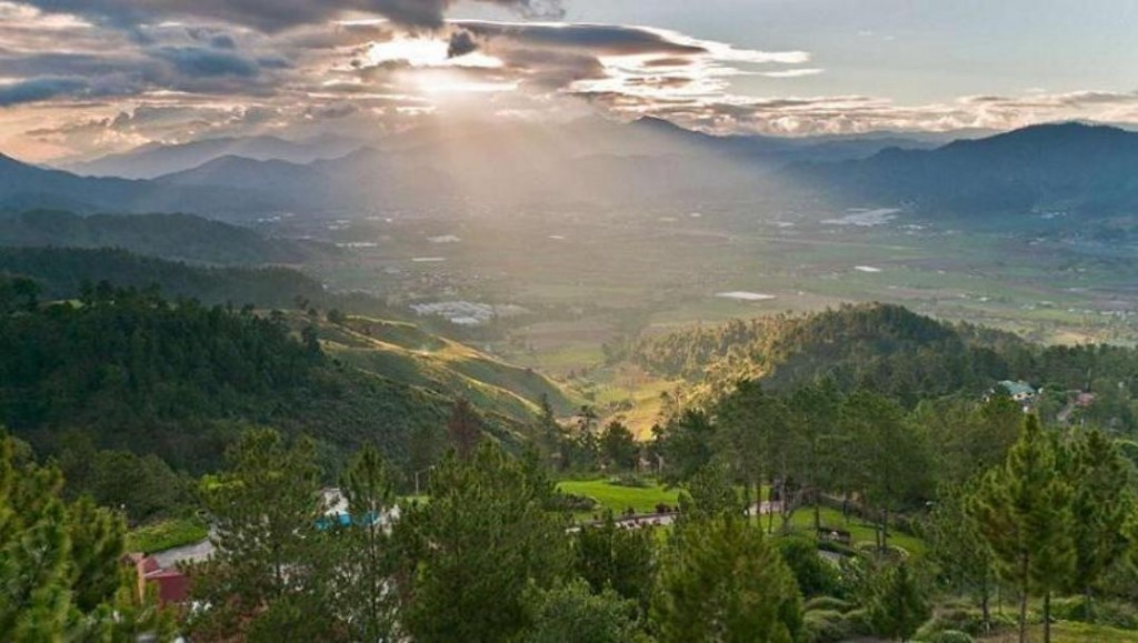 Beautiful panorama in the valley of Jarabacoa
