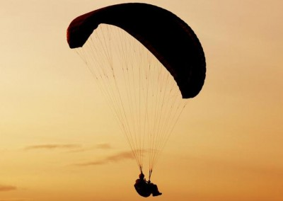 Paragliding in the Dominican Republic