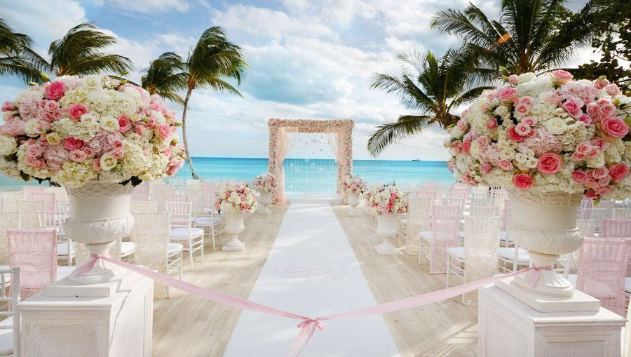 A destination wedding in the Dominican Republic