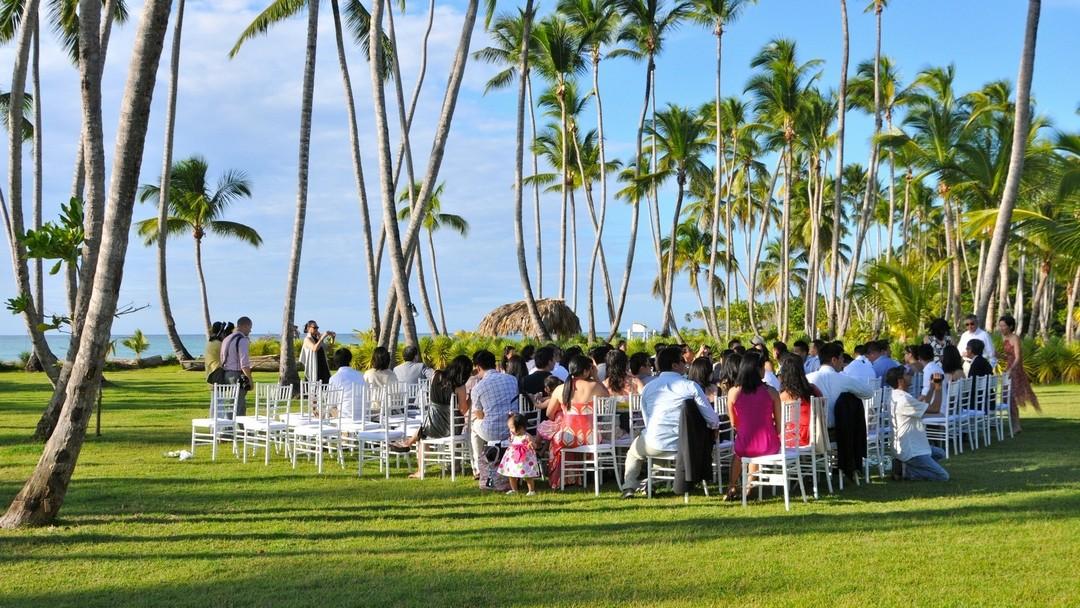 A wedding in our Villa del Mar in Las Terrenas