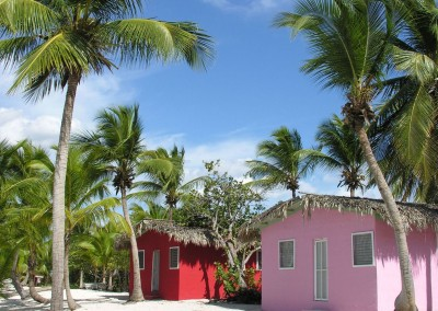 The beautiful Isla Saona is a popular excursion from Punta Cana
