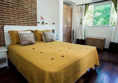 Bedroom at the Portes 9 in Santo Domingo
