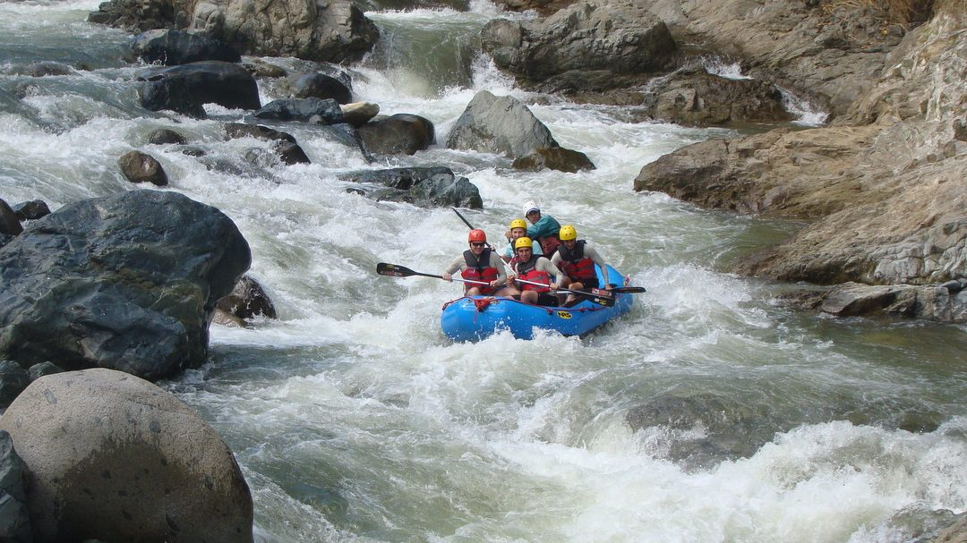 River Rafting – action packed adventure in the mountains