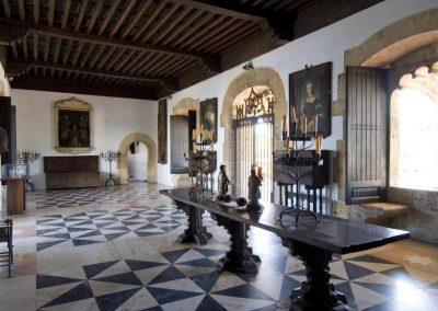Inside the Alcazar de Colon (Columbus's son's house), Santo Domingo.