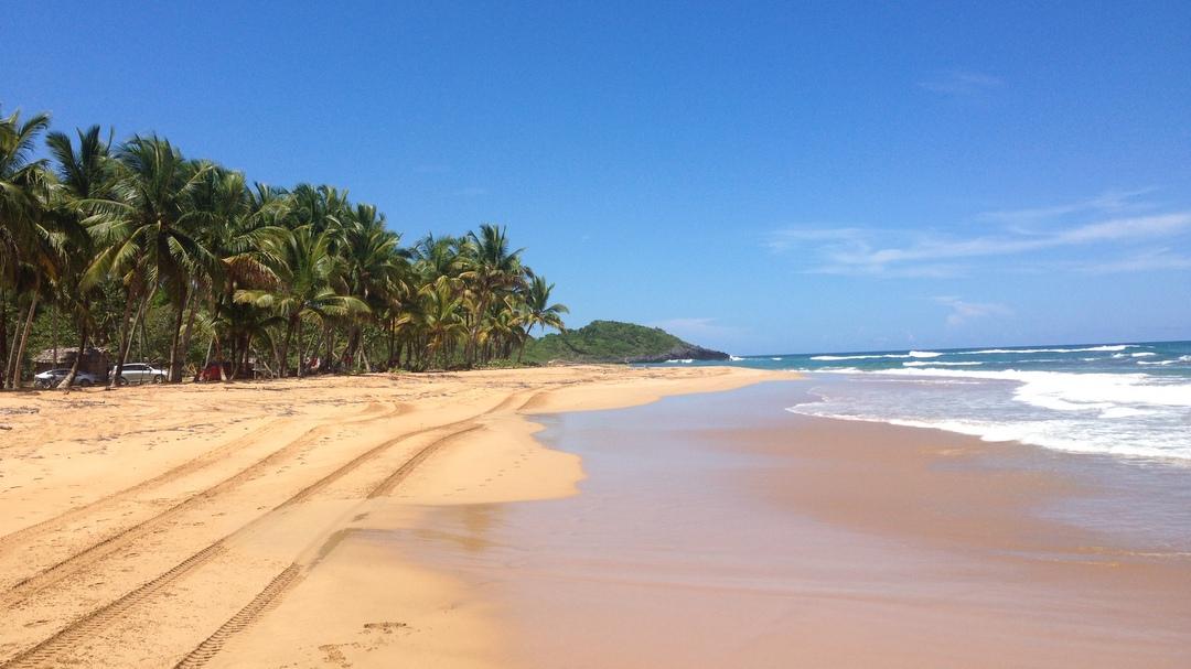 Beautiful, pristine beach of Lanza del Norte