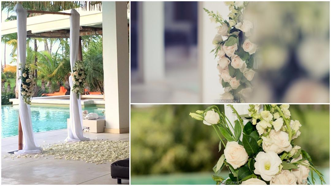 Destination Wedding - Ceremony at Villa del Mar