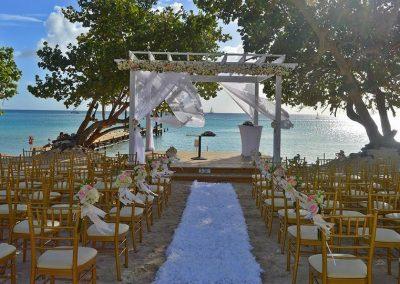 Beach Ceremony at Dreams Dominicus La Romana