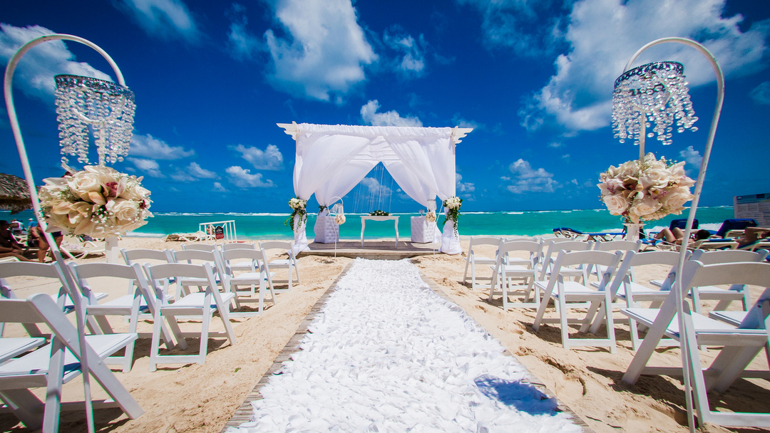 destination weddings in punta cana at an all inclusive resort