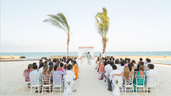 Destination Wedding at the beach