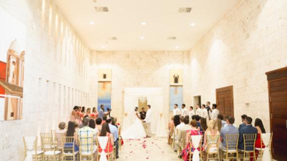 Ballroom Foyer - Destination Wedding