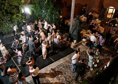 Wedding party in the Zona Colonial