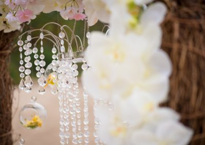 Vintage wedding decoration elements