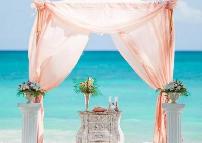 Beautiful Vintage Wedding Gazebo at the Beach