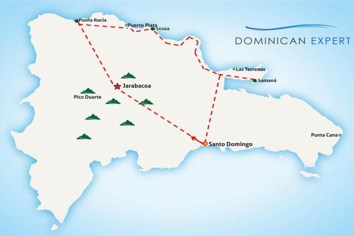 Bacardi Insel Dom Rep Karte.Rundreise Naturschönheiten Dominikanische Republik Luxus