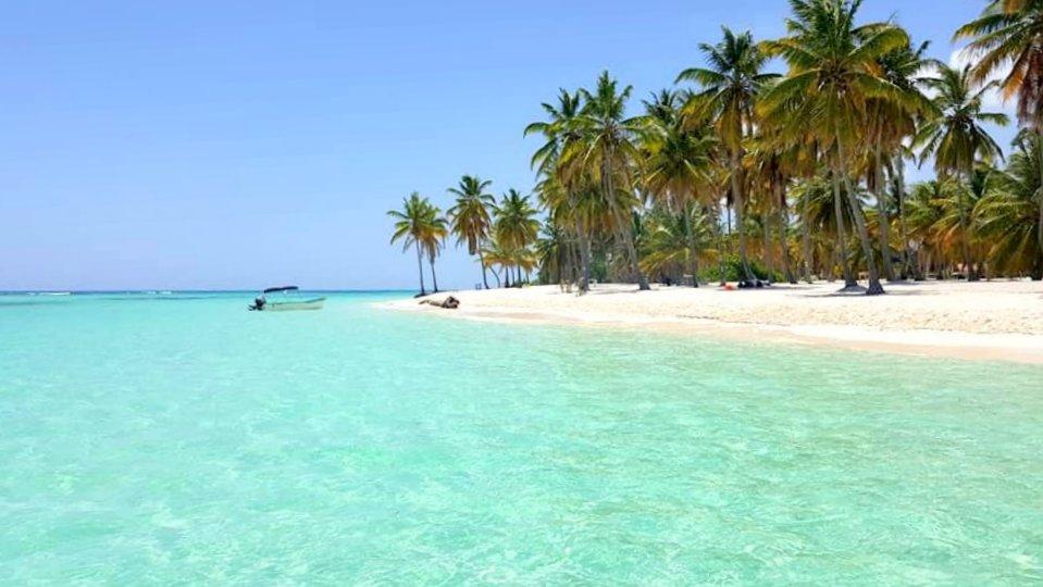 Pristine Beach on Saona Island
