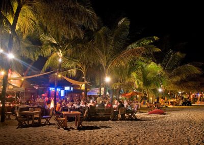 Cabarete is a vibrant beach town with an active nightlife and bar scene