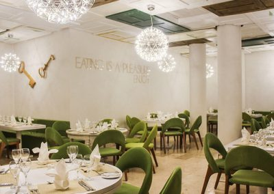 "Fusion specialty a la carte restaurant ""Melt"" at Viva Wyndhamt Tangerine, Cabarete"