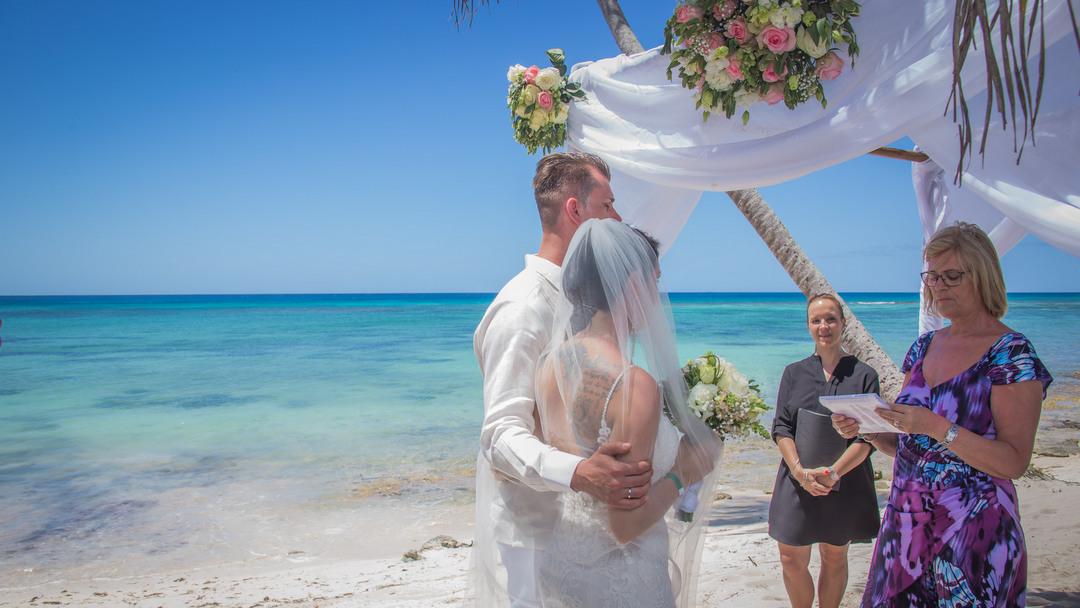 Destination Wedding on Saona Island, Dominican Republic