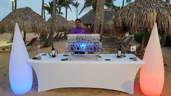 Incentive - Beach Cocktail at Hotel Breathless, Punta Cana