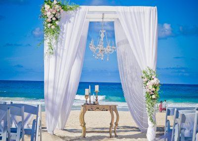 Beach Wedding Ceremony at Hard Rock Hotel & Casino Punta Cana